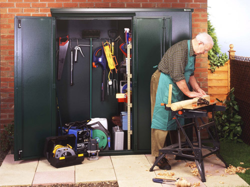 Insurance approved storage for your garden