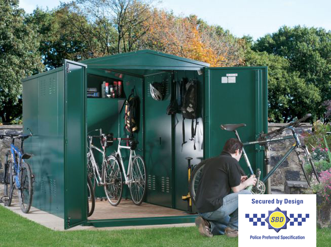 Centurion Bike Shed x7