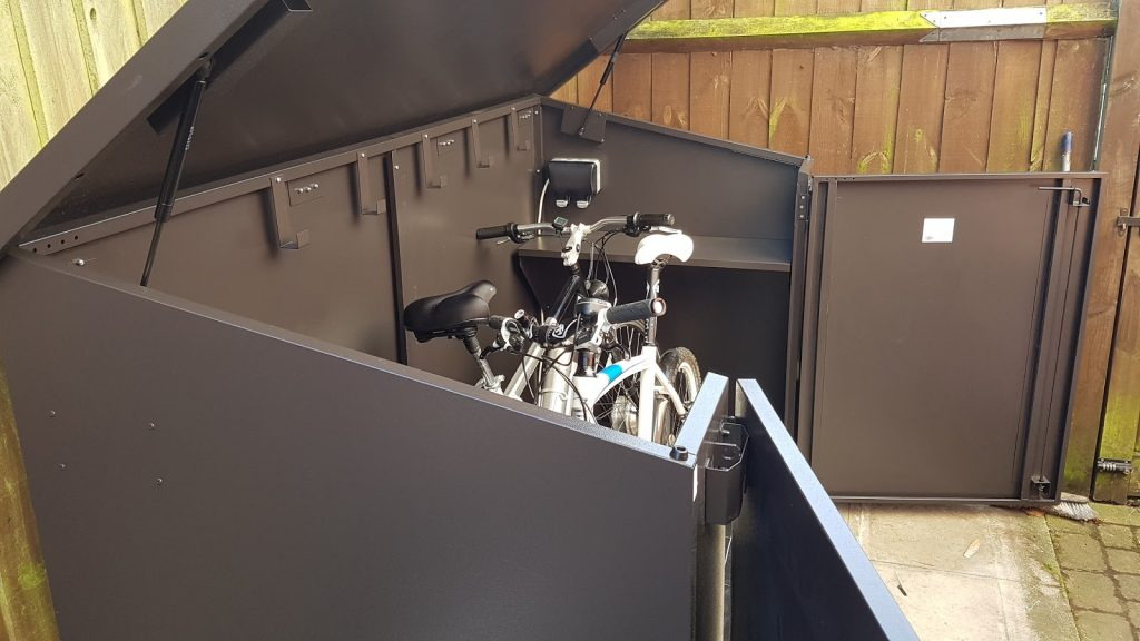 Asgard metal bikebox