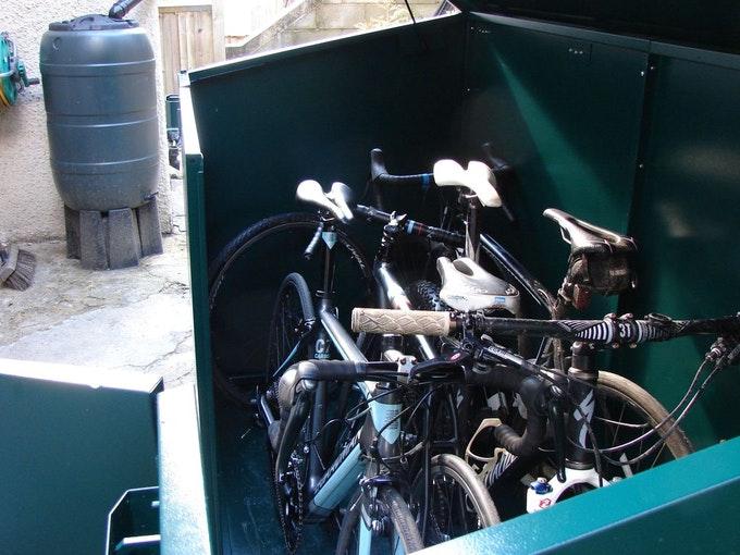 Access Bike Storage Full of Bikes