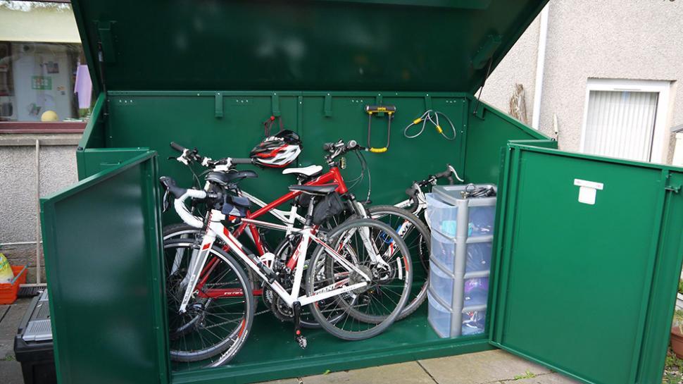 Road CC reviews Access 29er metal bike shed