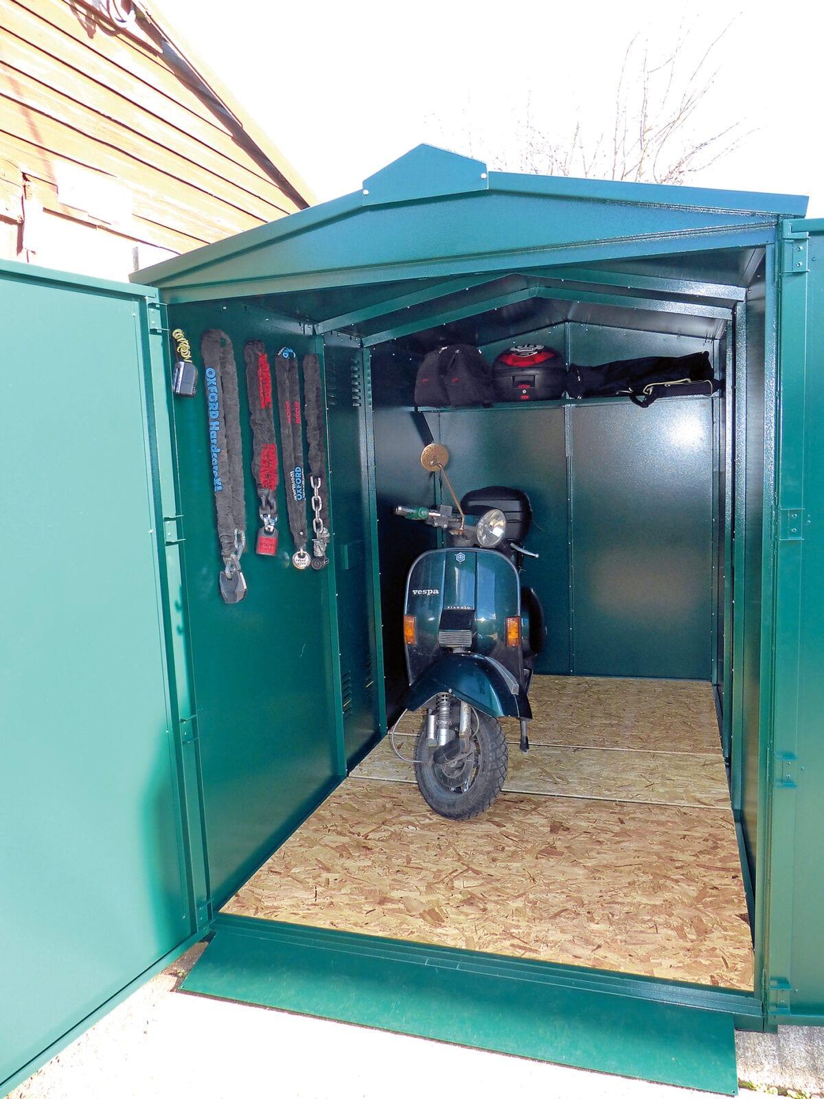 Asgard scooter storage